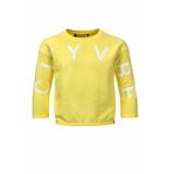 Looxs Revolution Lime sweater loose-fit voor meisjes in de kleur