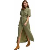 Denham Denise dress ec green