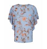 Mos Mosh Tara thistle blouse