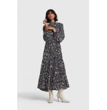 Alix The Label 2102374916 ladies woven flower linen dress