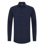 Sleeve7 Heren overhemd widespread satijn modern fit