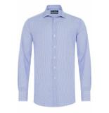 Sleeve7 Heren overhemd gestreept widespread poplin modern fit