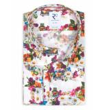 R2 Amsterdam Overhemd met bloem mf 112.wsp.093/073