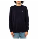 Calvin Klein Maglione uomo monogram chest logo cn sweater j30j317118.chw