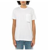 Calvin Klein T-shirt uomo micro branding pocket tee j30j317275.yaf