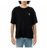 Calvin Klein T-shirt uomo monogram modern relaxed fit tee j30j318310.beh