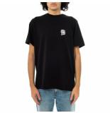 Life sux T-shirt uomo basic tee ts1017.blk