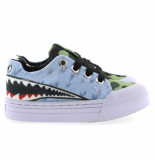 Go Banana's Gb sharkattack-l canvas sneakers