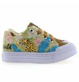 Go Banana's Gb leopard canvas sneaker