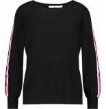 Aaiko Grazia fine knit top black