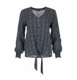 MAICAZZ Najma-blouse sp-21.20.002 dots blue