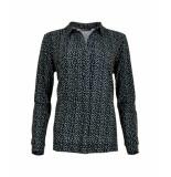 MAICAZZ Nisola-blouse sp21.20.010 dots blue
