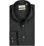 Thomas Maine Heren overhemd linnen cutaway tailored fit