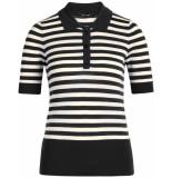 King Louie Polo top classic stripe black