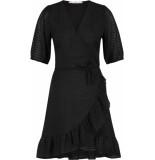 Aaiko Briggit wrapp dress black