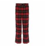 Twin-set 192tp2623 pantalon zwart rood