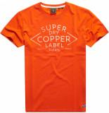 Superdry Ss workwear graphic tee 185 volcanic orange