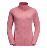 Jack Wolfskin Vest women modesto jacket rose quartz