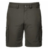 Jack Wolfskin Korte broek men canyon cargo dark moss