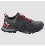 Jack Wolfskin Wandelschoen men force striker texapore low phantom red