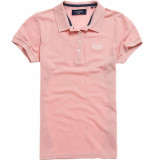 Superdry Polo shirt soft pink