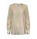 Herzen's Flamingo blouse mint