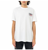 Tommy Hilfiger T-shirt uomo tommy jeans tjm ny script box back logo tee dm0dm10216.ybr