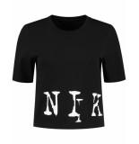 Nikkie T-shirt n6-937 big logo