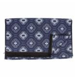 Tresanti | sjaal medaillon double face blue