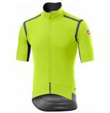 Castelli Fietsshirt men gabba ros yellow fluo