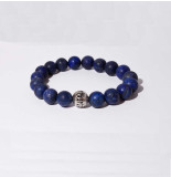 Mr.FRILL Mr. frill handmade bracelet blue coral / blue matte