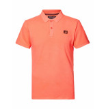 Petrol Industries Polo pol922-3099 fiery coral -
