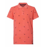 Petrol Industries Polo pol904 3099 fiery coral -