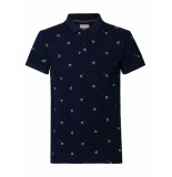 Petrol Industries Polo 1010-pol904-5110 dark navy -