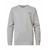 Petrol Industries Swr305 sweater crew neck 9038 light grey -