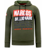 Local Fanatic Hoodie print narcos billionaire
