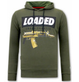 Local Fanatic Hoodie print loaded gun