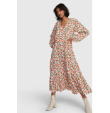 Alix The Label 2103342956 ladies woven fresh flower maxi dress
