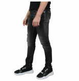 My Brand Black denim zipper jeans