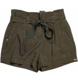 Superdry Desert paper bag shorts bungee cord