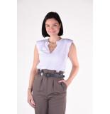 Frame T-shirt padded shoulder v lwts1400