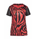 Goldbergh Tigina short sleeve tiger rood