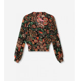 Alix The Label 2103975882 ladies woven chiffon blouse