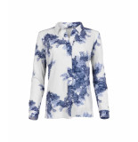 MAICAZZ Nisola-blouse sp21.20.010 leaf blue