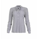 MAICAZZ Raia-blouse sp21.20.011 dots off white