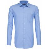 Seidensticker Heren overhemd fil-à-fil borstzak modern fit