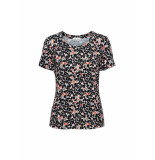 &Co Woman And co top vere minimal flower