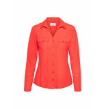 &Co Woman And co blouse coral lino