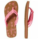 O'Neill O'neill fw 3 strap ditsy flip flops