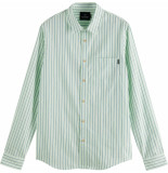 Scotch & Soda Relaxed fit- shirt in yarn-dyed pat combo d